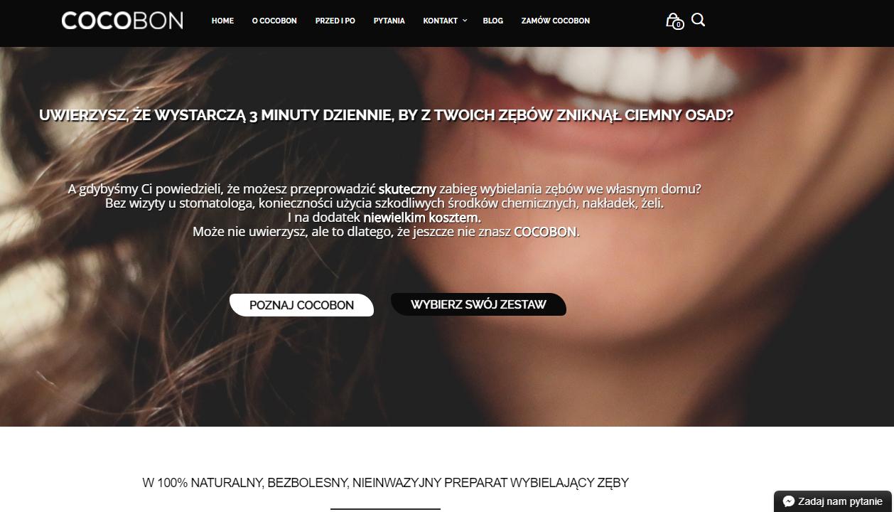 teksty na stronę www cocobon
