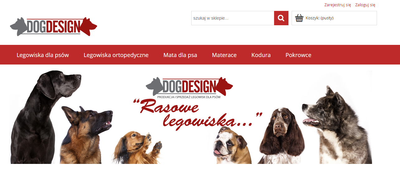 dog design portoflio